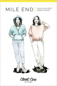 Closet Core - Paper Sewing Pattern - Mile End Sweatshirt