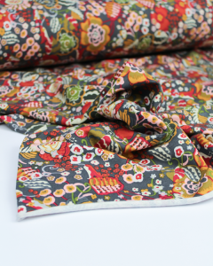 Modal French Terry Fabric - Flower Power