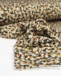 Modal French Terry Fabric - Tiny Camo
