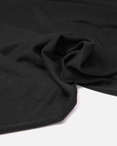 Modal Blend Jersey Fabric - Black