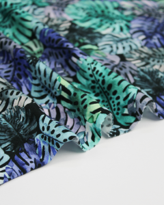 REMNANT Monstera Jersey Fabric - 70cm x 145cm