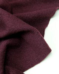Wool Jersey Fabric - Mulberry