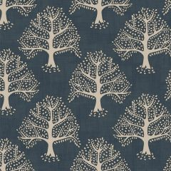 Home Furnishing Fabric - Imprint - Great Oak Midnight