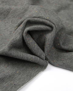 Neppy Sweatshirt Fleece Fabric - Grey