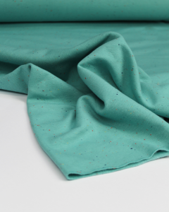 Neppy Sweatshirt Fleece Fabric - Lagoon