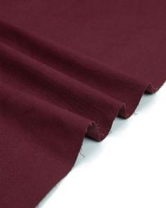 Organic Cotton Chino Fabric - Sangria Wine