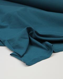 Organic Cotton Jersey Fabric - Pacific Blue