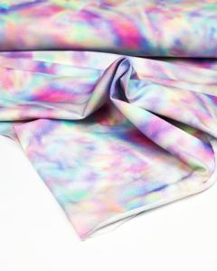 Organic Cotton Jersey Fabric - Unicorn Galaxy
