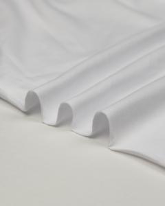 Organic Cotton Jersey Fabric - White
