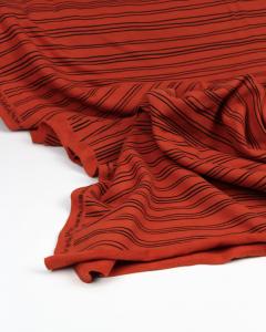 Organic Cotton Sweatshirt Fleece - Terra Stripe