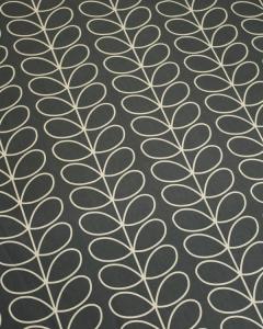 Home Furnishing Fabric - Orla Kiely - Linear Stem Cool Grey