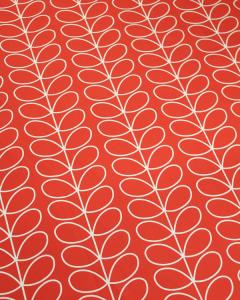 Home Furnishing Fabric - Orla Kiely - Linear Stem Tomato