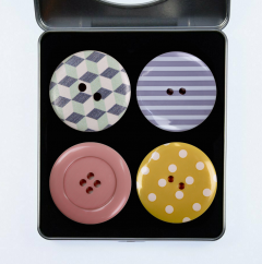 Pattern Weights - Pastel Buttons