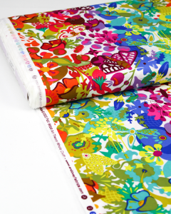 Patchwork Cotton Fabric - Alison Glass - Art Theory Overall Day