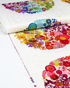 Patchwork Cotton Fabric - Alison Glass - Ex Libris - Art Theory Panel