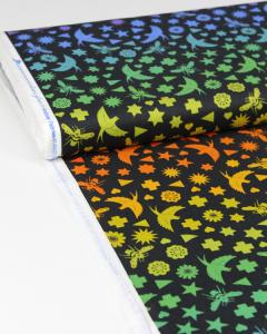 Patchwork Cotton Fabric - Alison Glass - Bird & Bee Night