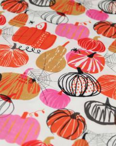 Patchwork Cotton Fabric - Full Moon - Pumpkin Patch