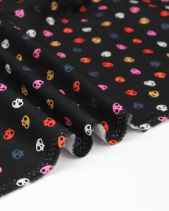 Patchwork Cotton Fabric - Full Moon - Sprinkle Skulls