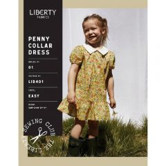 Liberty - Paper Sewing Pattern - Penny Collar Dress