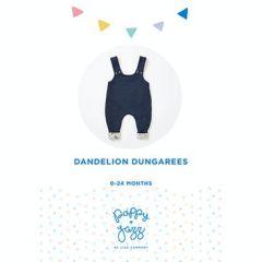 Poppy & Jazz - Paper Sewing Pattern - Dandelion Dungarees