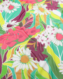 Plissé Chiffon Fabric - Woodstock
