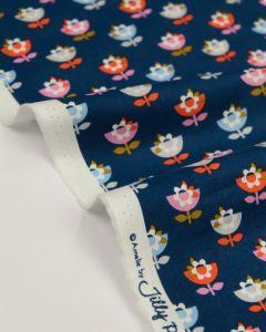 Pure Cotton Fabric - Amelie Flowers