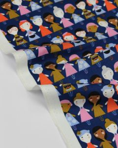 Pure Cotton Fabric - Amelie Girls
