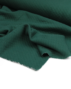 Quilted Ponte Jersey Fabric - Pine