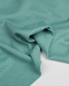 Quilted Ponte Jersey Fabric - Spearmint
