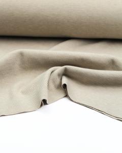 Rib Jersey Fabric - Oatmeal