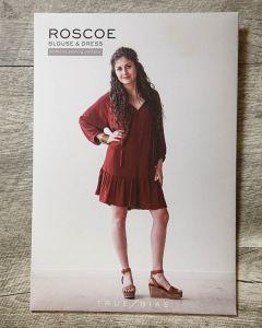 True Bias - Paper Sewing Pattern - Roscoe Blouse & Dress