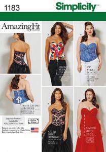 Simplicity Pattern 1183 - Misses' & Plus Size Corsets