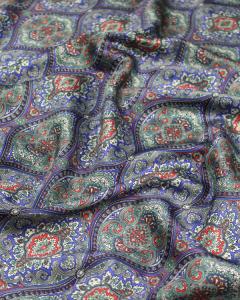 Silk Satin Fabric - Gainsborough