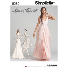 Simplicity Pattern 8289 - Leanne Marshall Special Occasion Gown