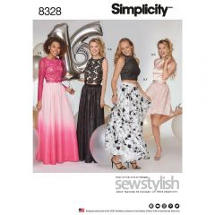 Simplicity Pattern 8328 - Special Occasion Separates
