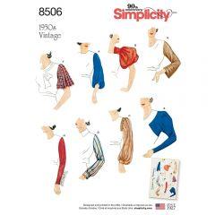 Simplicity Pattern 8506 - Vintage Sleeve Set