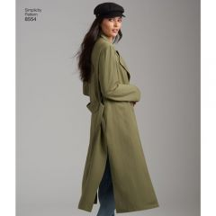 Simplicity Pattern 8554 - Soft Duster Jacket