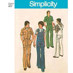 Simplicity Pattern 8615 - Mimi G Vintage Reworked Jumpsuit & Overalls