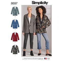 Simplicity Pattern 8697 - Oversized Blazer