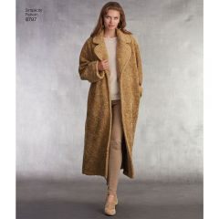Simplicity Pattern 8797 - Oversized Lined Coat