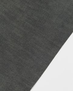 Stretch Cotton Denim Fabric - Pewter