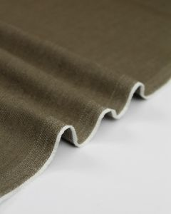Stretch Denim Fabric - Porcini