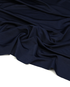 Stretch Tricot Lining Fabric - Navy