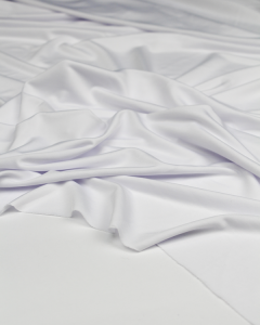 Stretch Tricot Lining Fabric - White