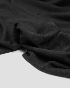 Sweater Knit Fabric - Black