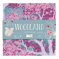 Tilda Patchwork Cotton Fabric - Woodland - Charm Pack