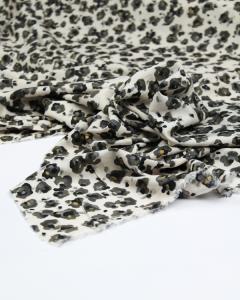 Tencel Lawn Fabric - Cloud Leopard