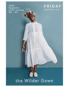 Friday Pattern Co -  Paper Sewing Pattern - The Wilder Gown