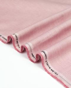 Tilda Patchwork Cotton Fabric - Chambray Basics - Blush