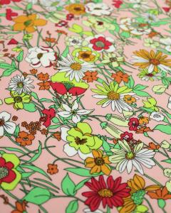 Viscose Challis Fabric - Joni Summer
